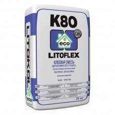 LITOFLEX K80 eco Беспылевая клеевая смесь