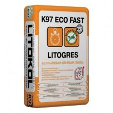 LITOGRES K97 ECO FAST Беспылевая клеевая смесь