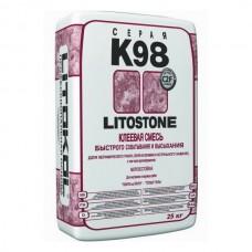 LITOSTONE K98 Морозостойкий клей для плитки