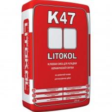 LITOKOL K47 Клеевая смесь для керамической плитки