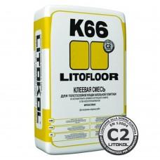 LITOFLOOR K66 Цементный клей